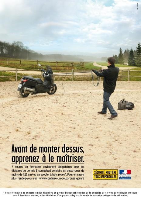 Formation obligatoire pour les scooters