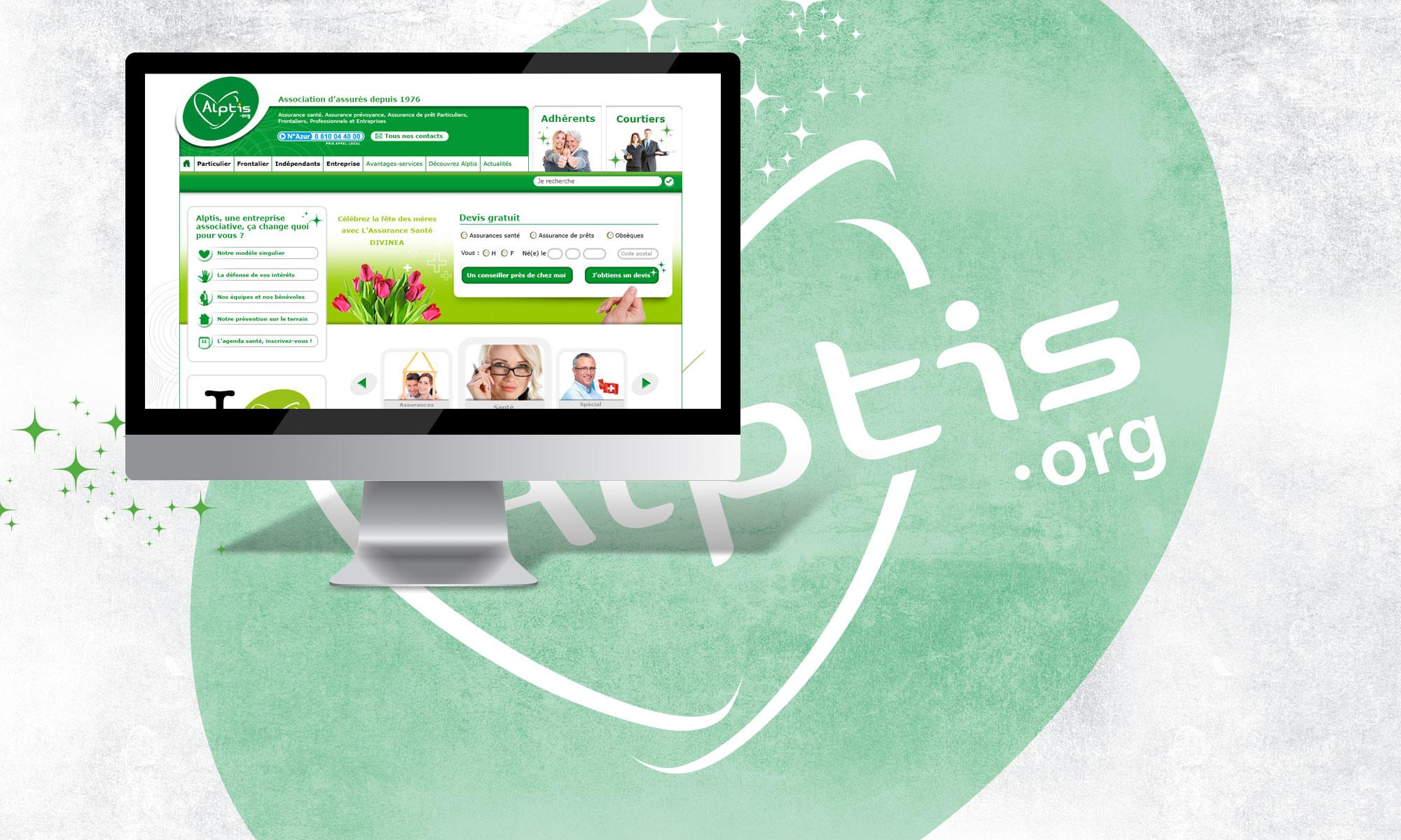 Développement de l'association d'assurés Alptis